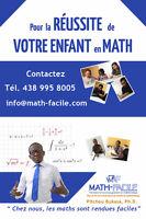 Tuteur de Math - Nous rendons les Maths faciles