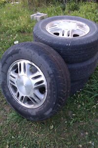 215/70/15 97T Tiger Paw tires on factory GM van rims