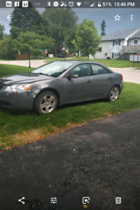 2009 pontiac g6 -  as is - one mans junk is anothers treasure?