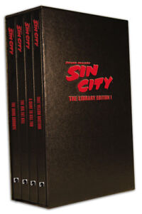 Sin City Comic Collection Library Set 1 hard Cover 100$ OBO