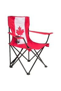 Canada folding chair with free umbrella