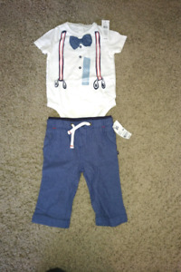 Infant boys outfit - size 6-12 months