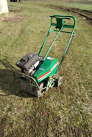 Garden tilling and lawn aeration