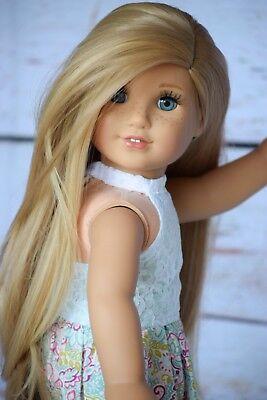 """11"""" Custom Doll Wig for 18"""" American Girl Doll -19"""" Gotz Hannah - OG -"""