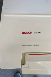 Bosch Front load dryer and washer