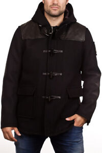 Brand New! Men's Moose Knuckle Toggle Wool Coat Zip-Up (Size M)