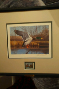 2002 Ducks Unlimited Stamp and Print