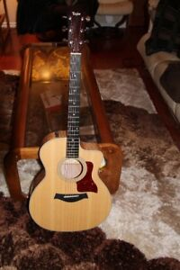 Like New RH Taylor 214ce Quilted Maple Deluxe Guitar