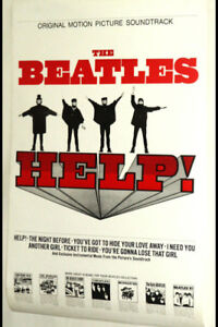 The Beatles Help poster brand new