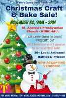 CHRISTMAS CRAFT SHOW FOR NOV 30 HAS A FEW OPENINGS