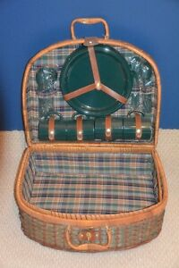 Wicker Picnic Basket with full set of utensils  -  brand new