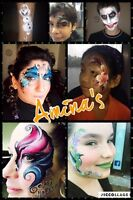 Maquillage fantaisie, face Painting!!!