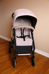 Bugaboo Frog Stroller with Bassinet and Car Seat Adaptor