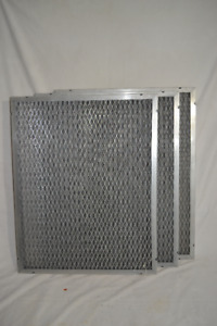 3 Metal Frame Permanent Washable Air Filters 20 x 25 x 1