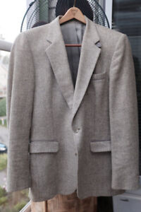 Vintage Grey Tweed Sport Coat Size M