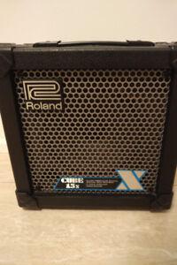 Roland Cube 15x guitar practice amp