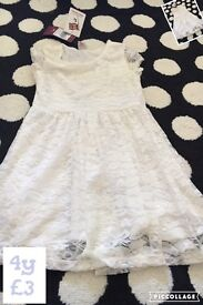 Girls dress 4y *brand new with tags*