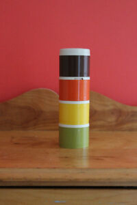 Vintage Tuperware Stacking Spice Contiainers