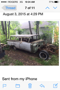 Looking for my old station wagon