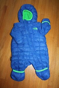 Infant Snowsuit - North Face Thermoball - 0 - 3 months