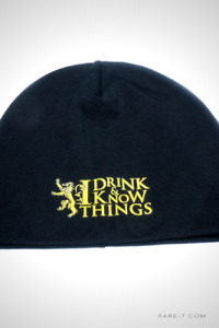 'GAME OF THRONES - I DRINK & I KNOW THINGS' Beanie/Hat