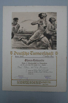 Deutsche Turnerschaft - Gausportfest Pirmasens, 1930