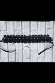 Hand made real leather choker £10