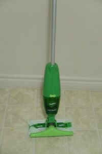 """Swiffer Vac"" Swiffer – never bend with a dustpan again!"