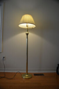 floor lamp and ceiling light