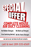 Professional Air Duct Cleaning with Unlimited Vents