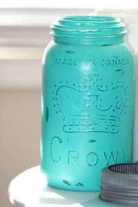 Vintage jars, painted and distressed Kitchener / Waterloo Kitchener Area image 7