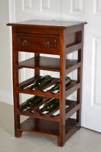 Wine Rack/Cabinet with Storage