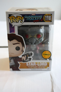 Funko Pop Guardians of the Galaxy Vol 2 Star-Lord 198 Chase Figu