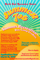 Summer Recreation Day Camp Leaders