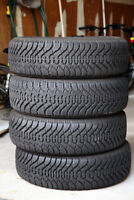 215/70R15 Good Year Winter Tires (like brand new)