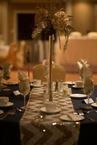 Elegant Gold Lighted Table Centers Regina Regina Area image 2