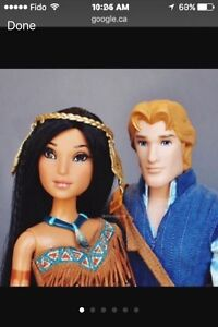 Limited edition Disney dolls. Strathcona County Edmonton Area image 1