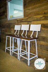 Bar Stools - Gorgeous, Handmade and Rustic