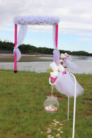 Beach Themed Wedding Ceremony Decoration Package $500