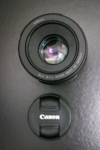 Canon 50mm f/1.8 STM lens/objectif