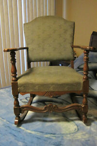 Vintage / Antique Solid Wood Rocking Chair