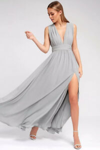 Lulus maxi dress, gown ,special occasion/bridesmaid/wedding