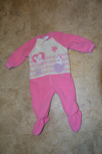 Pink Children's Place Sleeper 6-9 months (Brand New)