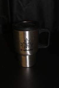 Lot of 10 Stainless Steel Canada Coffee Mugs