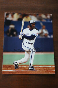 "Devon White & John Olerud Blue Jays Autographs""Free Lunch Pail"""