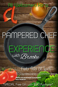 Pampered Chef Event - 1 Free Item With $100 Purchase