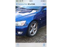 Lexus is200 blue 8m6 wing passenger near side 98-05 breaking spares is 200 is300 sporcross