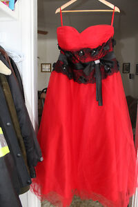 Womens Red Prom Dress