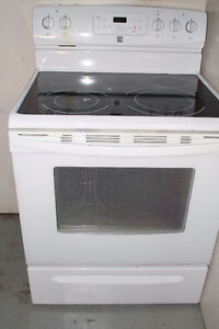 SLIGHTLY USED GLASS TOP STOVE $250 or BEST OFFER