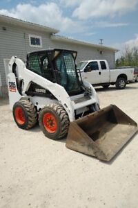 Rare Machine - 2008 Bobcat S205 Skidsteer with attachments